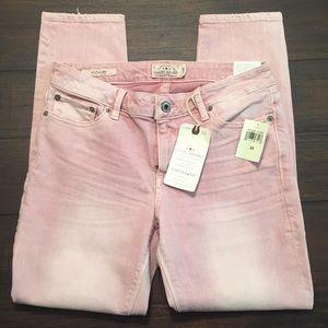 Lucky Brand Lolita Capri Pink Sz 6 / 28 NWT